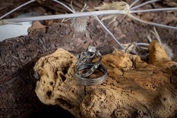Парные эльфийские кольца